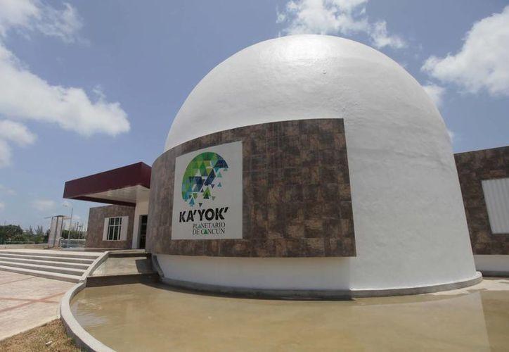 Anuncian que el costo del Planetario será de 45 millones de pesos. (Julián Miranda/SIPSE)