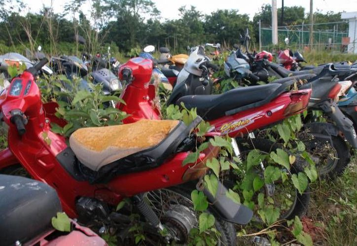 El Cabildo autorizó la venta de motocicletas que no fueron reclamadas por sus dueños y que están en el corralón de Cozumel. (Archivo/SIPSE)