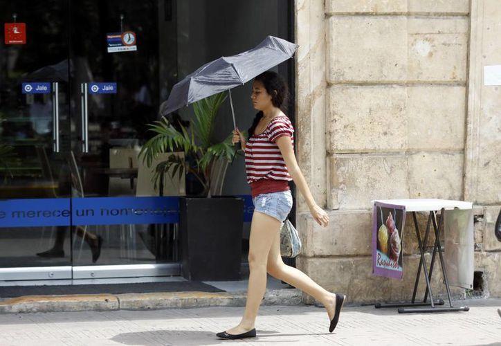 La Conagua informa que habrá altas temperaturas esta semana. (Christian Ayala/SIPSE)