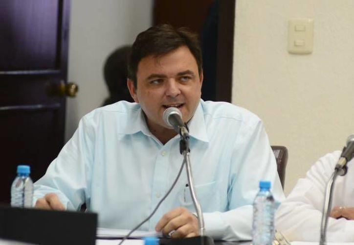 El secretario General de Gobierno, Roberto Rodríguez Asaf, exhortó que a través de la Policía Estatal de Investigación, robustecer el accionar del Nuevo Sistema de Justicia Penal y Acusatorio que ya opera en la entidad.  (Foto de archivo de SIPSE)