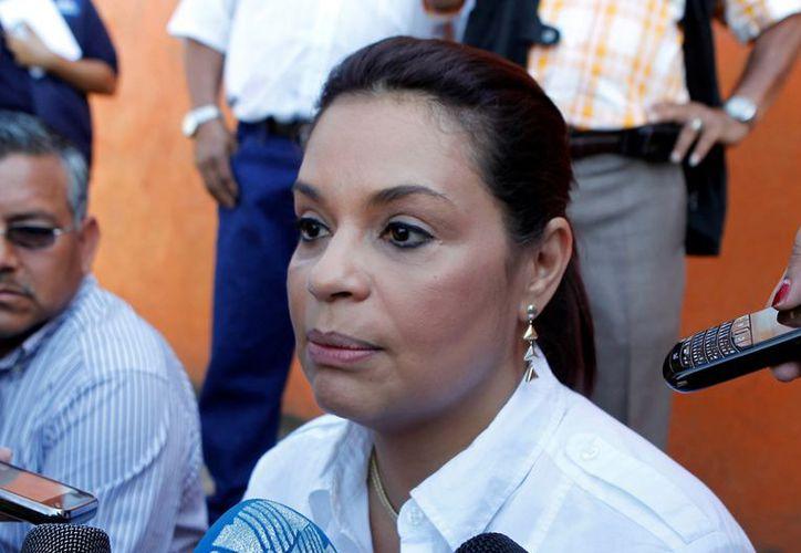 La vicepresidenta guatemalteca, Roxana Baldetti. (monitoreodemedios.gt)
