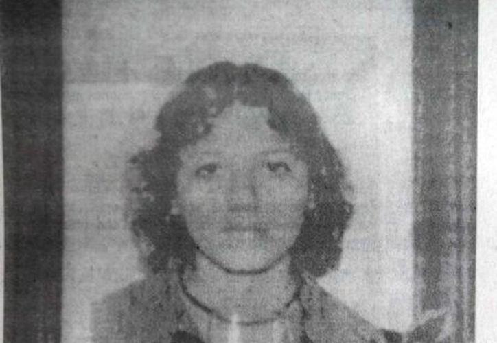 La joven Erika Pech Echeverría, asesinada cruelmente y que se manifiesta hasta ahora, según afirman testigos. (Jorge Moreno/SIPSE)