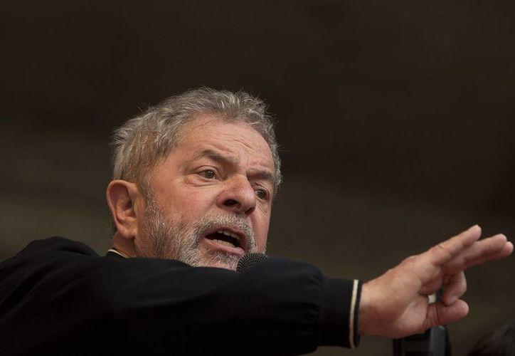 El expresidente brasileño Luis Inacio Lula da Silva comparecerá ante las autoridades que tienen a su cargo la investigación del caso Petrobras. (AP)
