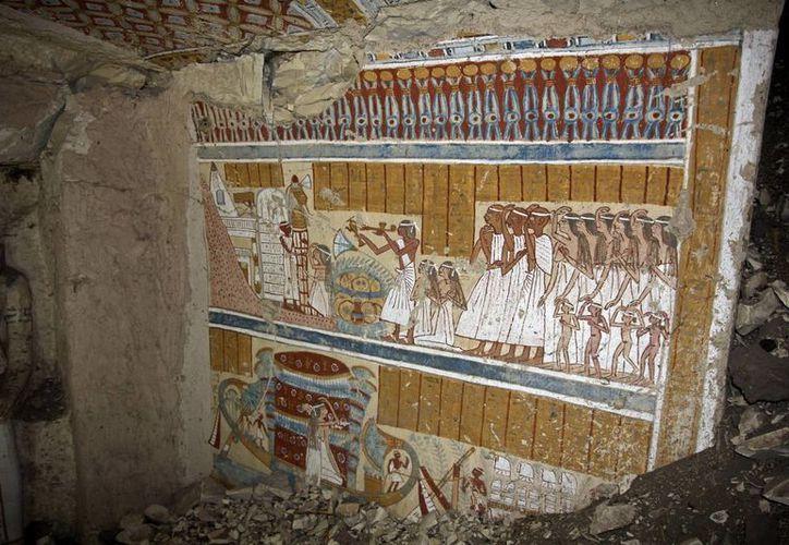 Las reliquias recuperadas, según las autoridades egipcias, fueron conseguidas mediante excavaciones ilegales en tumbas. (EFE/Archivo)
