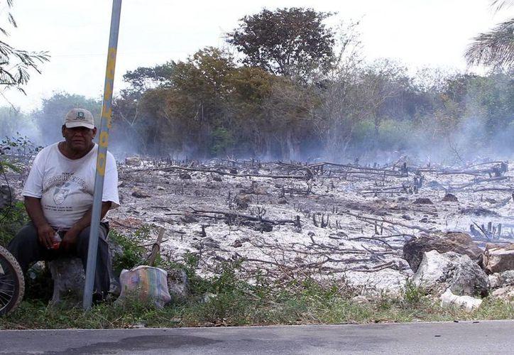 Muchas quemas agrícolas derivan en incendios, por eso invitan a prevenir y respetar el calendario. (José Acosta)