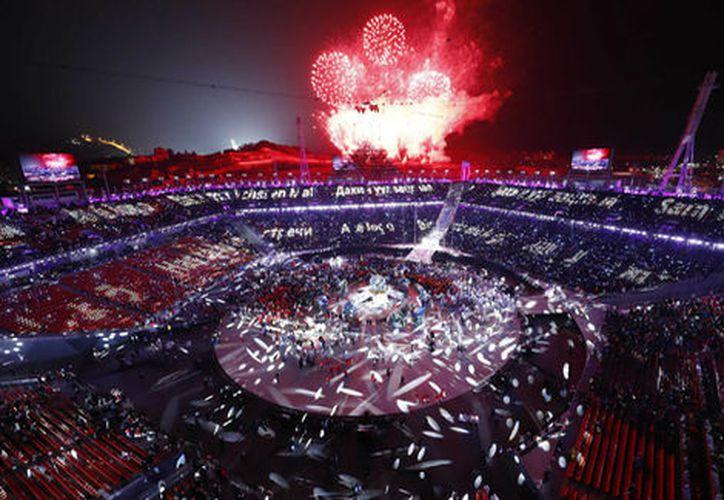 El presidente del COI destacó Pyeongchang 2018 como los Juegos de nuevos horizontes. (Reuters)