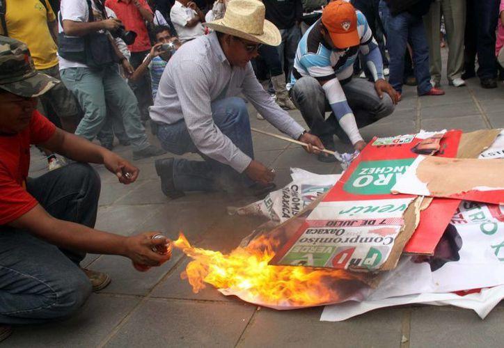 Continúan exigiendo la derocación de la Reforma Educativa. (Archivo/Notimex)