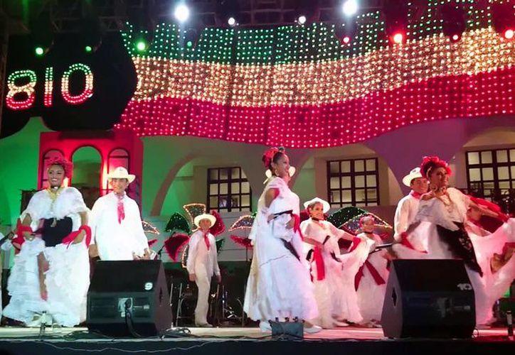 Un abanico de talentos locales serán los encargados de amenizar las fiestas patrias en Cancún. (Foto: Redacción/SIPSE)
