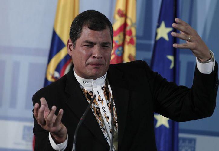 Correa busca reforzar las candidaturas de su partido. (Agencias)