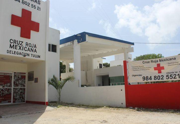La Cruz Roja de Tulum mantendrá sus bazares y ventas para obtener recursos que le permitan pagar sus gastos fijos. (Sara Cauich/SIPSE)