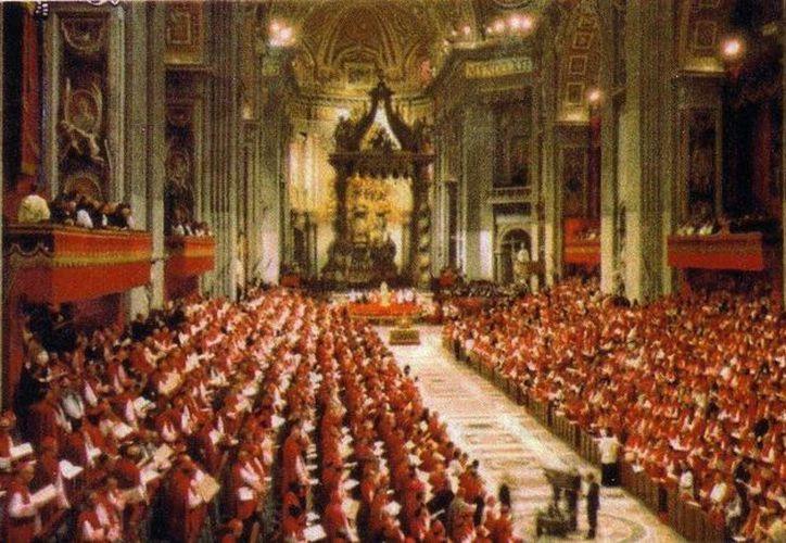 Los cardenales mexicanos acudirán al concilio convocado para el mes de abril.  (Archivo)