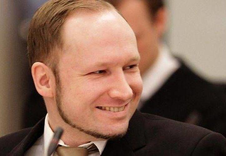 Anders Behring Breivik fue autor de la masacre de 77 personas en Oslo. (news.com.au)