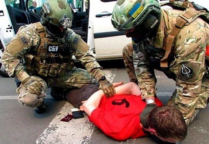 El terroristas era seguido desde hace meses por La agencia de inteligencia ucraniana SBU.(AP)