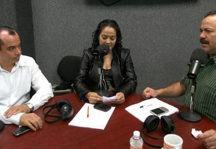 Durante un programa de radio se anunció la estrategia de promoción de Cancún. (Cortesía/SIPSE)
