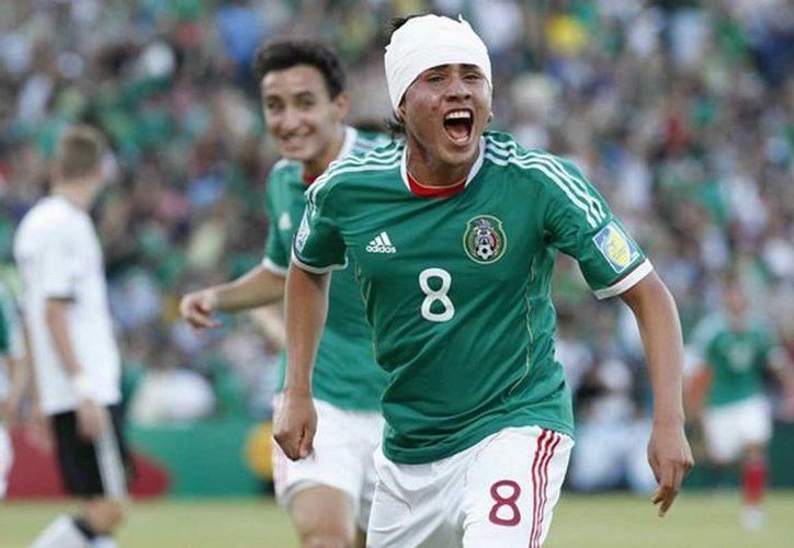 """Gómez reconoció que el mundial Sub-17 del 2011 quedó atrás """"es una nueva era, con entrenador y compañeros, es otro compromiso con este equipo"""". (Facebook oficial)"""