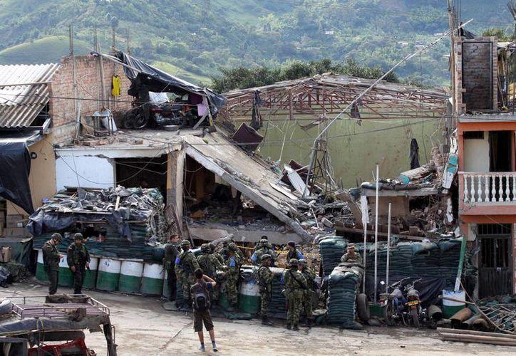 El anuncio de tregua unilaterl ocurre después de un mortal atentado -atribuido a las FARC- que dejó nueve víctimas. (Agencias)