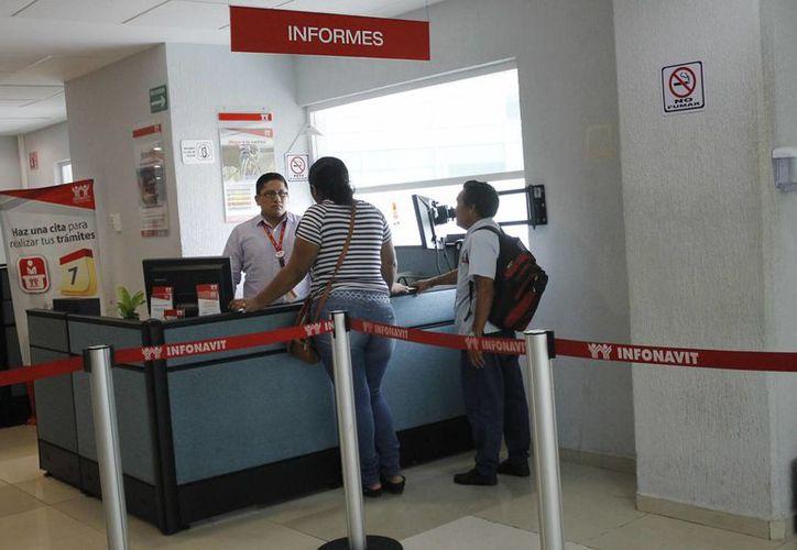 El Infonavit ofrece beneficios a los trabajadores. (Yajahira Valtierra/SIPSE)