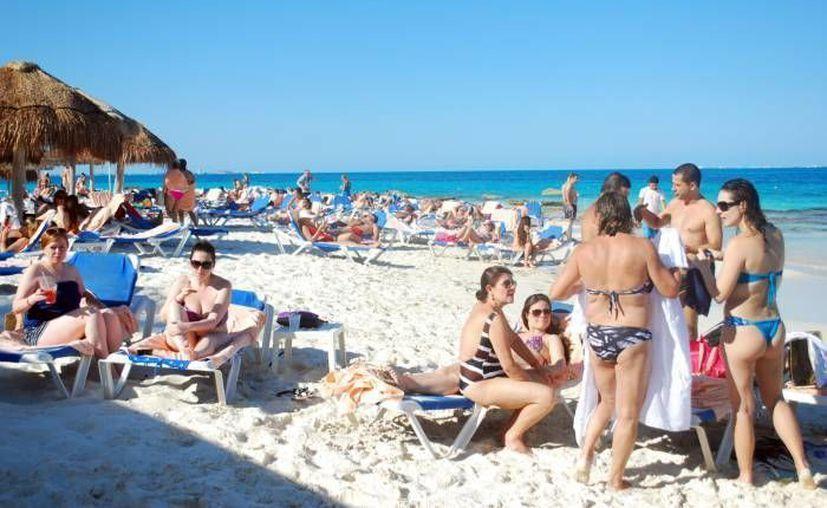 El turismo de Cancún y Riviera Maya incrementó de acuerdo con los indicadores del Sistema de Monitoreo DataSur. (Contexto/Internet)