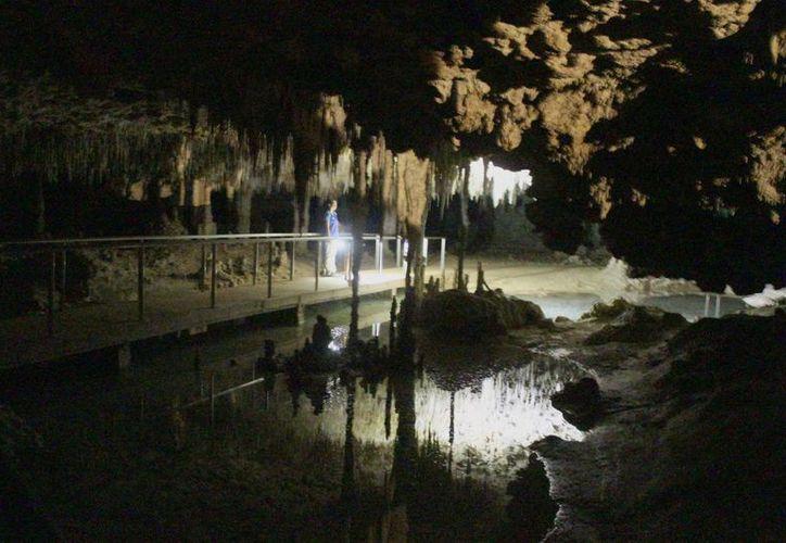 El sistema subterráneo tiene alrededor de cinco millones de años. (Sergio Orozco/SIPSE)