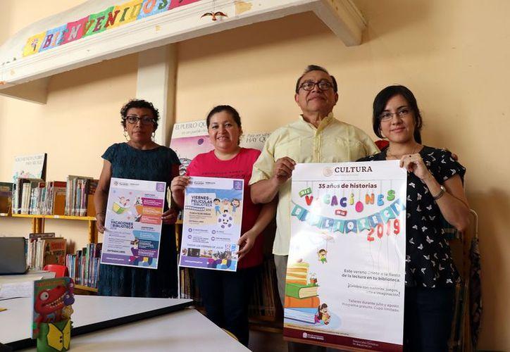 La Bibiolteca Central invita a una experiencia diferente. (Foto: Daniel Sandoval/Novedades Yucatán)