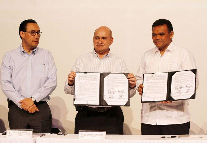 Con esta iniciativa Yucatán se pondrá a la vanguardia en información y estadística, se indicó en el evento. (Cortesía)