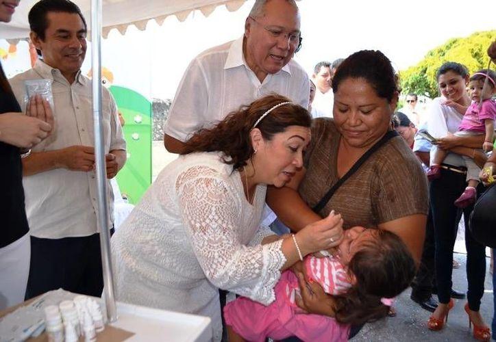 La campaña busca garantizar el derecho a la salud a todos los niños del municipio. (Redacción/SIPSE)