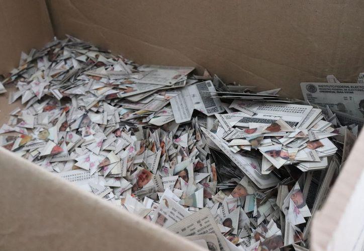 El INE destruyó más de 18 mil credenciales para votar con fotografía, emitidas en Quintana Roo. (Cortesía)