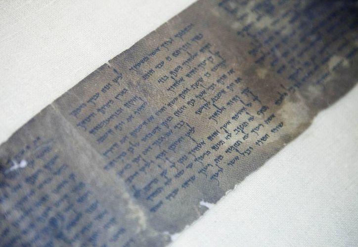 Los manuscritos solo estará a la vista por dos semanas debido a su fragilidad. (AP)