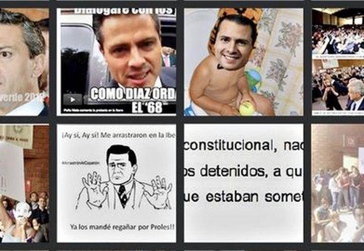 En el último año se difundieron más de 19 millones de tuits referentes a Peña Nieto, de acuerdo con Topsy Pro. (Agencia Reforma)