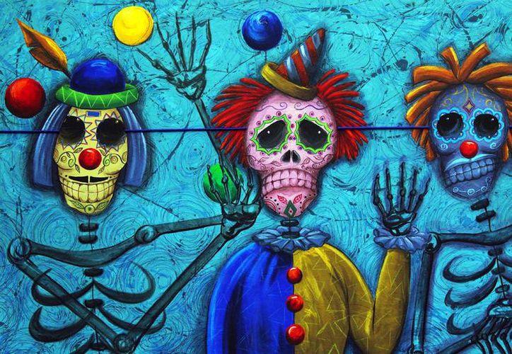 El artista Darío Villasis presentará la exposición 'En Memoria'. Imagen de una de sus obras, que son de estilo surrealista figurativo. (Milenio Novedades)