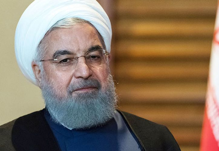 El presidente de Irán, Hasán Rohaní. (Foto: RT)