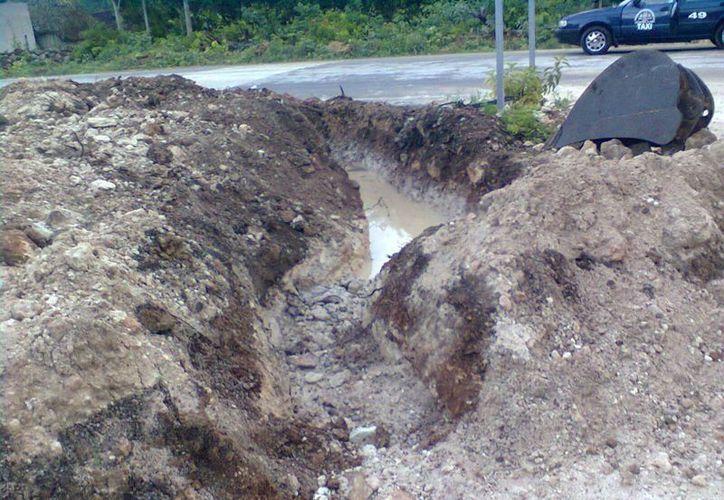 Las zonas que no presentaban afectaciones durante las lluvias, en esta ocasión se inundaron. (Carlos Yabur/SIPSE)