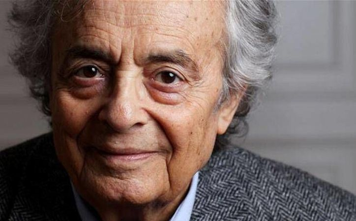 El gran poeta árabe Adonis es uno de los candidatos desde hace algunos años a llevarse el Premio Nobel de Literatura 2016. En enero pasado, Adonis estuvo en el festival cultural de Mérida.  (Imagen tomada de jornadabc.mx)