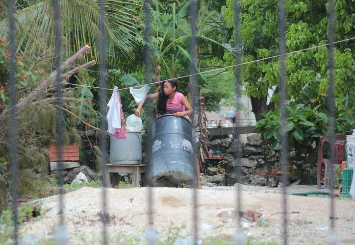 Asentamientos irregulares de Cozumel, como Las Fincas y Maravilla, serán dotados de servicios públicos. (Gustavo Villegas/SIPSE)
