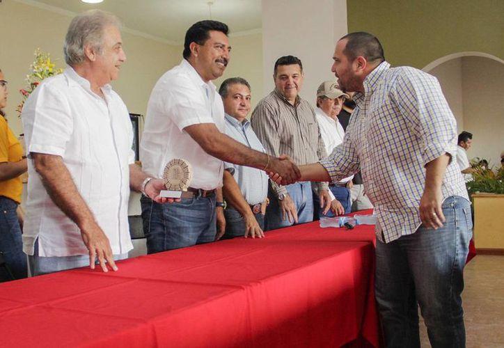 Yucatán demostró una vez más, en la Feria de Xmatkuil, que goza de alta calidad genética bovina. (Foto cortesía del Gobierno)