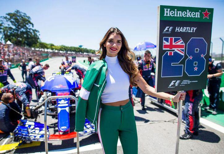 Las Grid Girls estarán de regreso para el GP de Mónaco. (Foto: SB Nation)