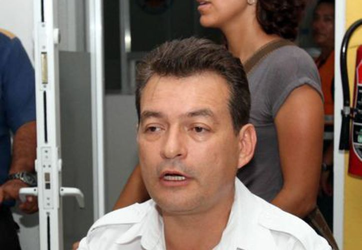 Félix Díaz Villalobos, director de Protección Civil. (Archivo/Sipse)