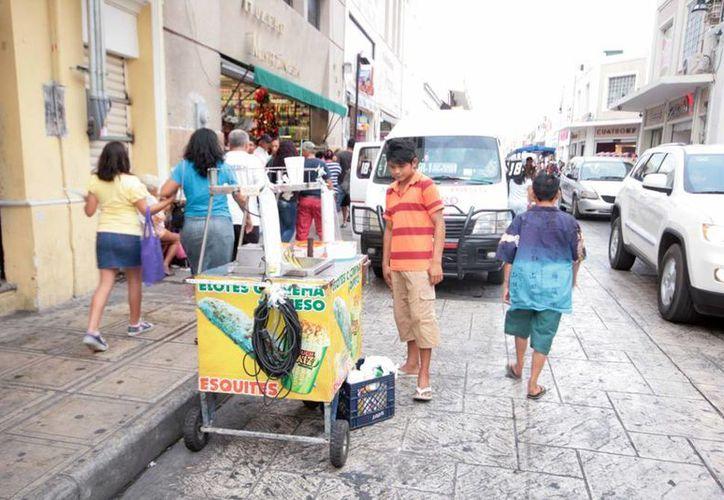 La Codhey advierte que las cifras que hay en torno del fenómeno del trabajo infantil en Yucatán son una llamada de alerta para las autoridades y sociedad. (Archivo SIPSE)