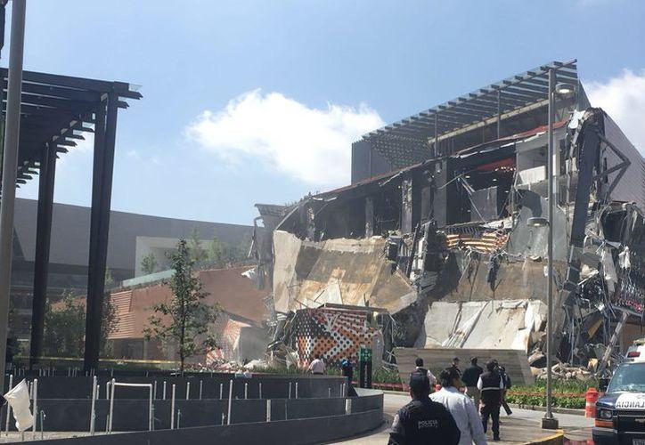 La firma Sordo Madaleno Arquitectos estuvo a cargo de la plaza que se desplomó ayer en CDMX. (Milenio.com)