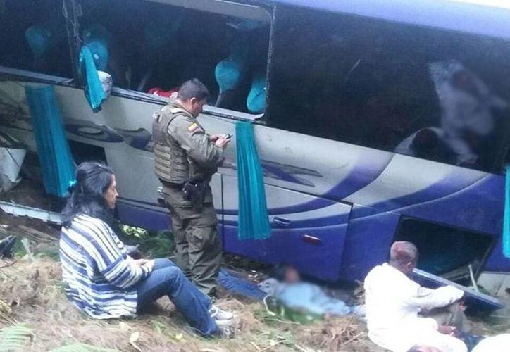 Los heridos fueron trasladados a varios centros médicos de la ciudad de Armenia. (elpais.com.co)