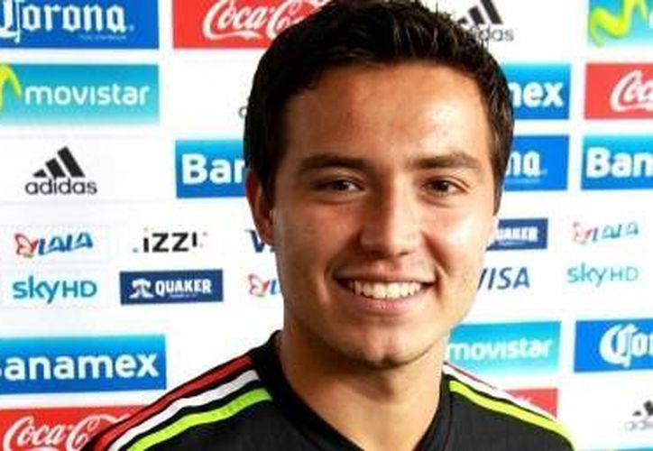 El delantero mexicano Erick <i>Cubo</i> Torres señaló que los rivales de México en los Juegos Olímpicos de Río 2016 van a salir a jugar <i>con todo</i>. (Notimex)