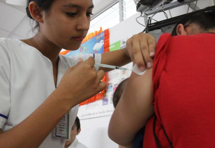 La próxima jornada de vacunación está programada para el mes de octubre. (Consuelo Javier/SIPSE)