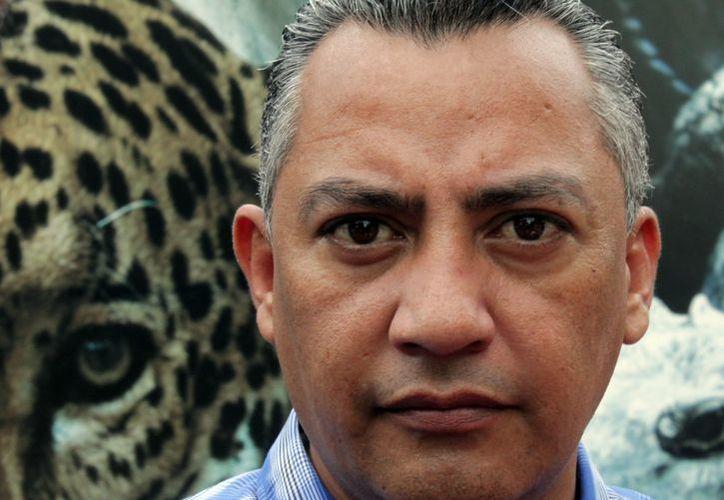 """""""Hoy me entregaron la lista de 400 personas; de ahí determinaremos quienes se irán"""", refirió Carlos Mario Villanueva Tenorio. (Francisco Sansores/SIPSE)"""