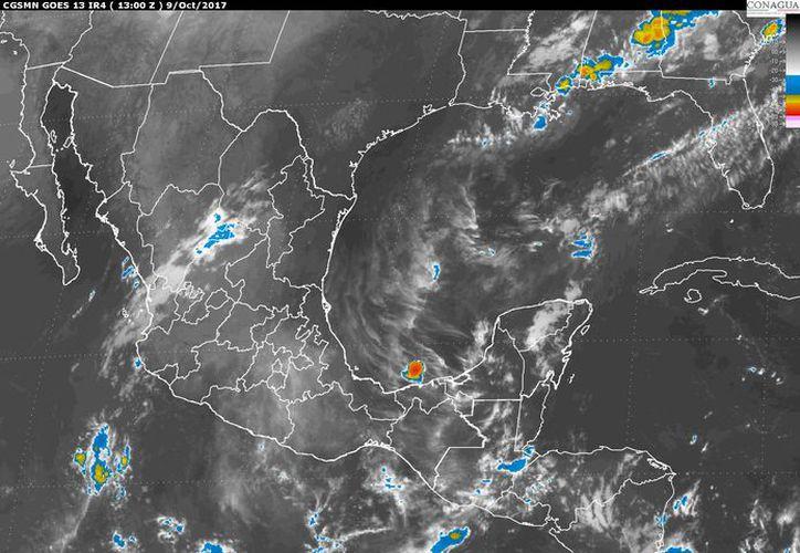 Existe un 40% de intervalos de chubascos vespertinos en Quintana Roo. (Servicio Meteorológico Nacional).