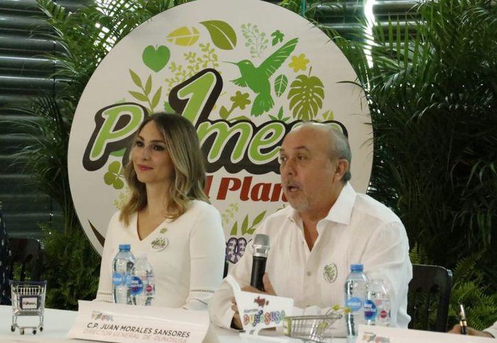 El director general de Dunosusa, Juan Morales Sansores, informó que la empresa se enfoca en el uso de energía limpia (solar), reciclaje, tratamientos de aguas residuales, educación y la disminución del uso de bolsas de plástico. (Milenio Novedades)