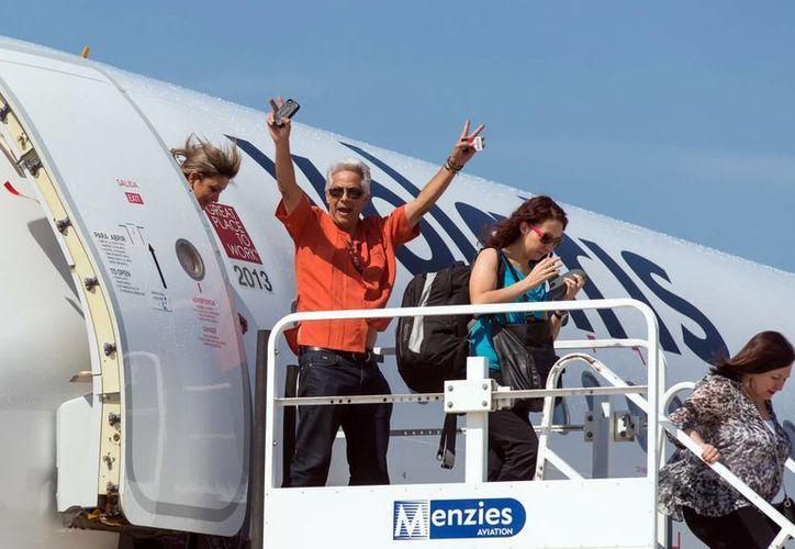El vuelo directo Mérida-Monterrey busca aumentar el flujo turístico. (Milenio Novedades)