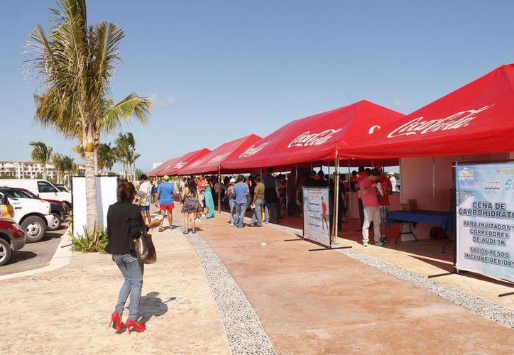 Realizarán actividades en el Malecón Tajamar del 18 hasta el 21 de este mes. (Jesús Tijerina/SIPSE)