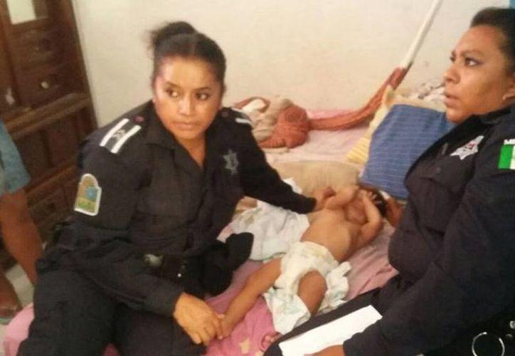 El menor fue trasladado al Hospital General para brindarle atención médica. (Archivo/SIPSE)