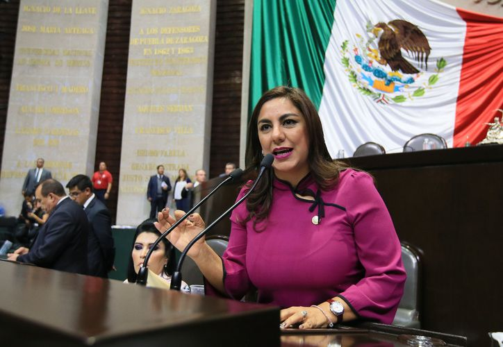 Diputada federal, Zacil Moguel Manzur, legisladora por el estado de Yucatán.