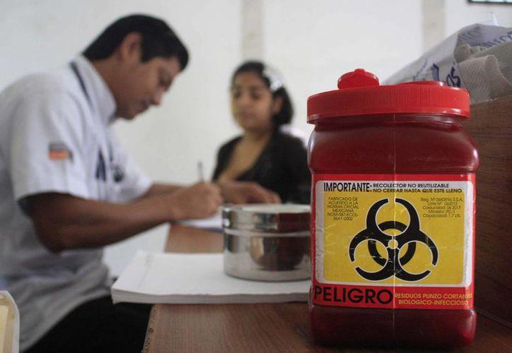 Los desechos de hospitales deberán ser desechados de manera adecuada para evitar riesgos al medio ambiente y a las personas. (Harold Alcocer/SIPSE)